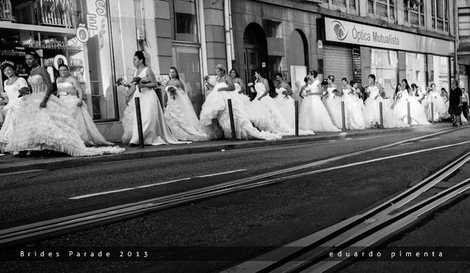 Brides Parade 2013