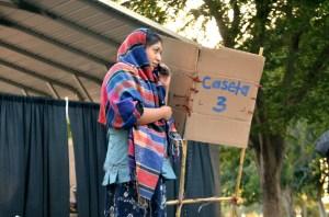 La obra representa parte de la vida de pobladores de Oaxaca que deben migrar para ayudar a sus familias. (Foto: Eduardo Stanley)