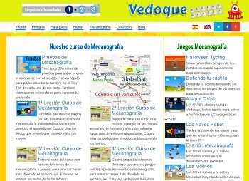 Mecanografía con Vedoque