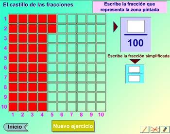 El castillo de las fracciones