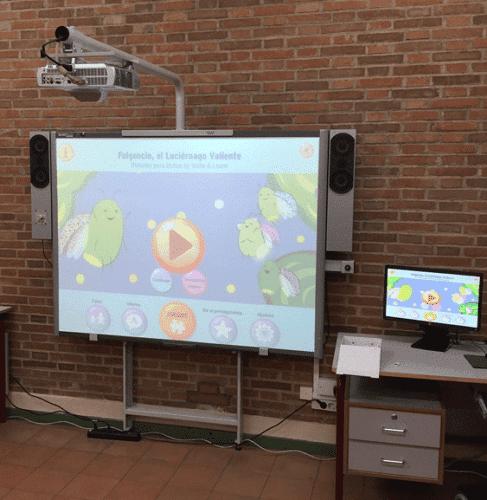 Colegio La Quinta- uso de las TIC y smile and learn