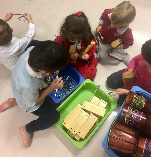 niños aprendizaje musical cerebro
