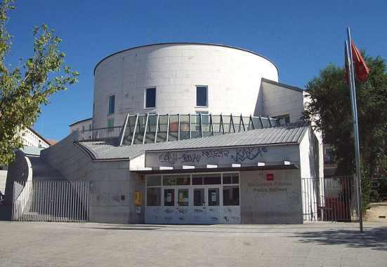 Biblioteca Pedro Salinas de Madrid bibliotecas para visitar en familia