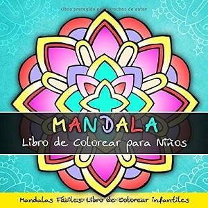 Mandala: libro de colorear para niños