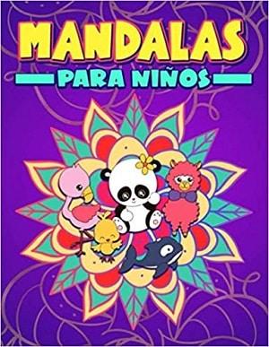 Mandalas para niños: Un bonito libro de colorear para principiantes