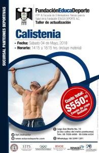 TALLER Calistenia @ Panteones Deportivas