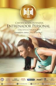 Certificación Intensiva Entrenador Personal @ Guadalajara, Jalisco