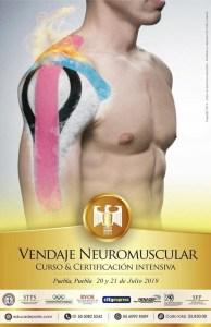Certificación Vendaje Neuromuscular @ Puebla, Puebla