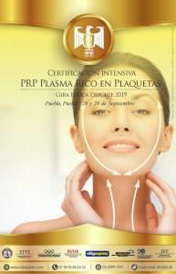 Certificación P.R.P., PLASMA RICO EN PLAQUETAS @ City express Puebla Centro
