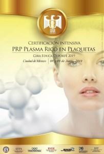 Certificación P.R.P. Plasma Rico en Plaquetas @ CDMX