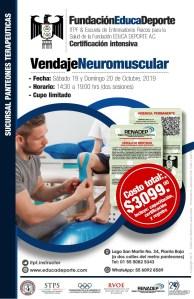 Curso Vendaje Neuromuscular @ Panteones Terapéuticas