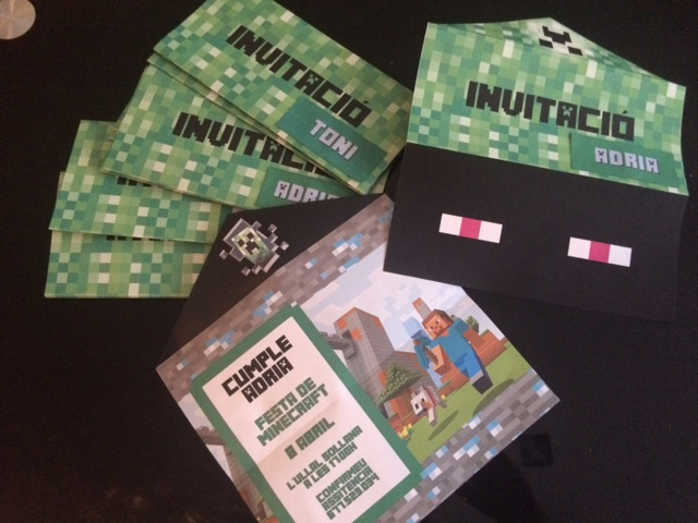 Fiesta Minecraft Educadiver
