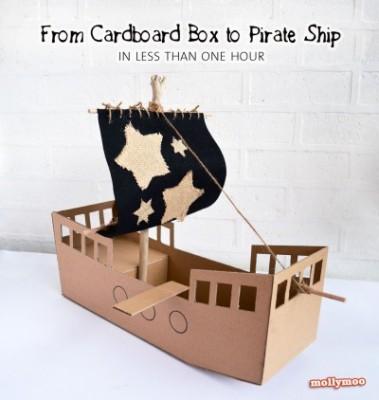 mollymoo-cardboard-pirate-ship-pinterest