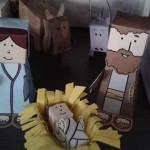 Belén de Papercraft: el Nacimiento