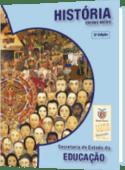 capa do livro de história