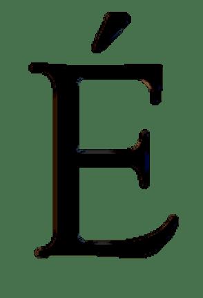 E sans fonds