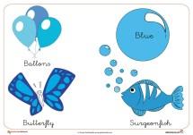 los colores, el azul, dibujos para colorear, colorear azul, dibujos niños, colorear niños