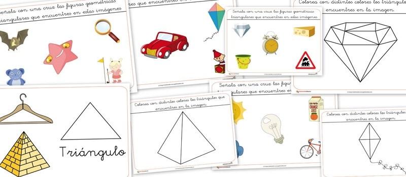 formas y figuras geometricas, triangulos