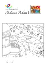 colorear_globos-y-faro-feliz