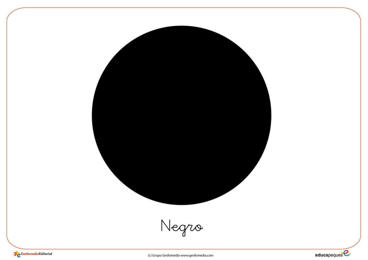 color blanco, color negro, dibujos para colorear, fichas de los colores, colorear, distinguir los colores