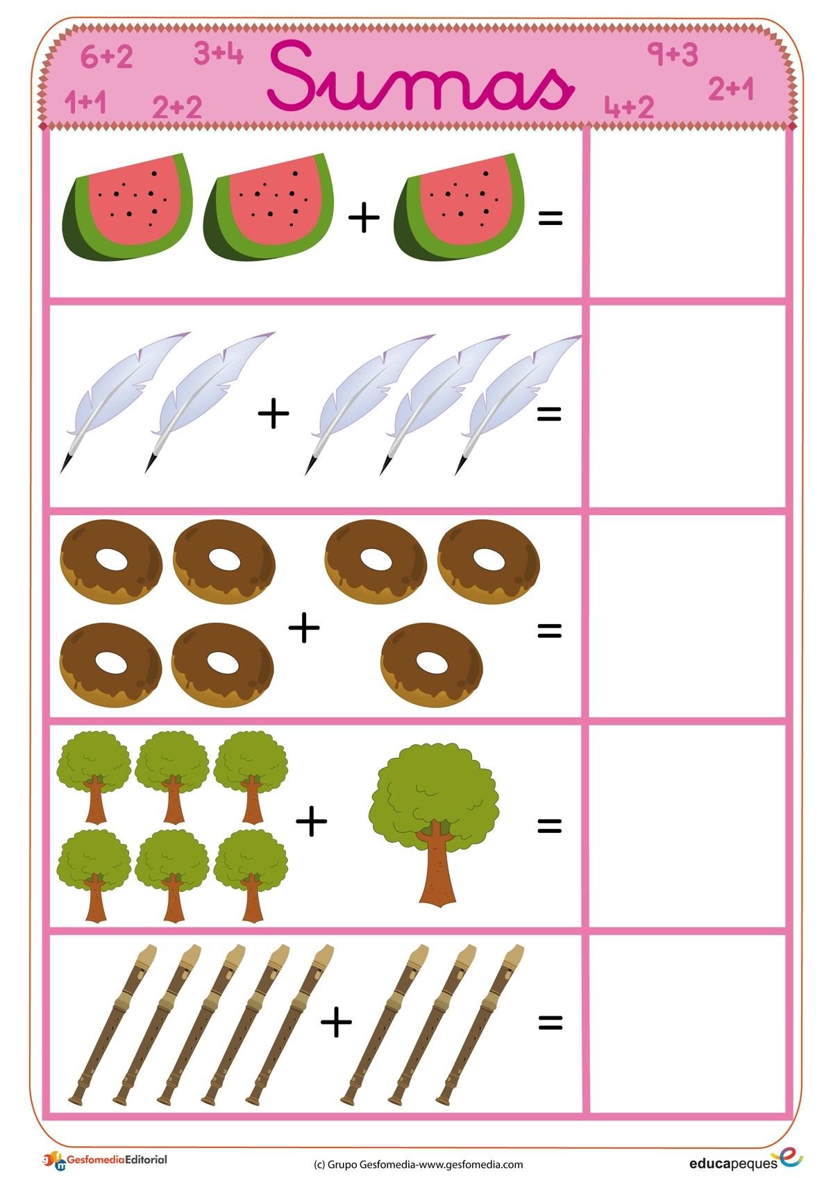 Belajar Anak Paud Kelas 1 Sd Matematika Penjumlahan