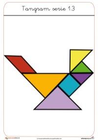 tangram para clase