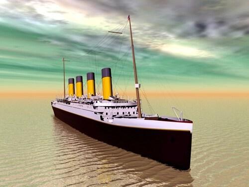 Pasajes de la historia el hundimiento del titanic - Construccion del titanic ...
