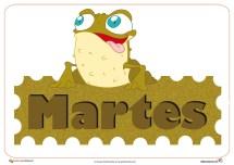 Dias de la semana 2.1 MARTEs