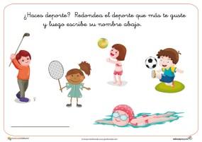 Fichas actividades infantil 03