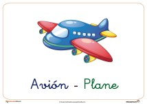avion ficha transporte
