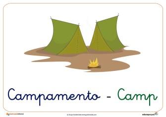 campamento ficha verano