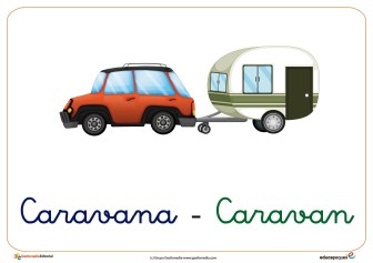 caravana ficha verano
