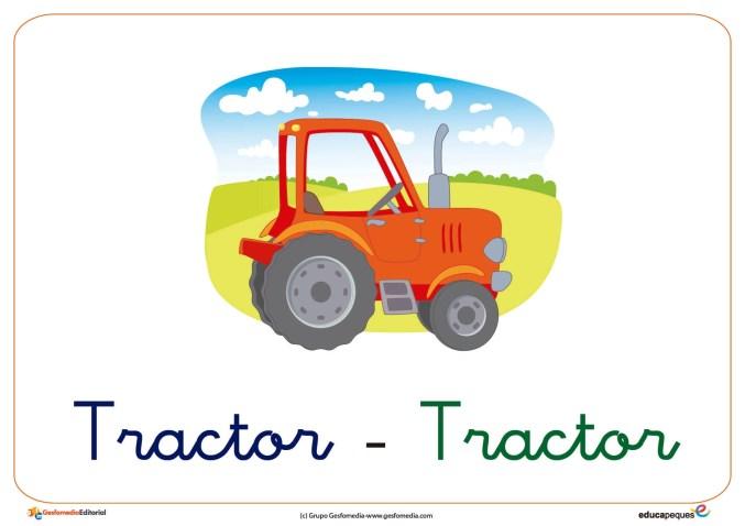 tractor ficha transporte