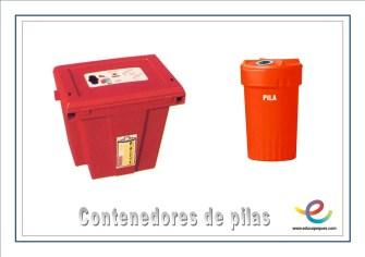 Contenedores de pilas