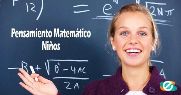 pensamiento matemático, razonamiento matemático