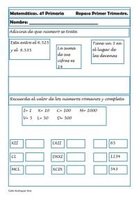 Matemáticas cuarto de primaria 03