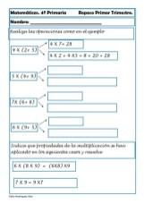 Matemáticas cuarto de primaria 21