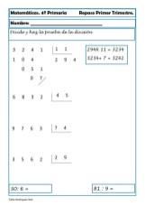 Matemáticas cuarto de primaria 24