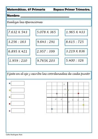 ejercicios matematicas sexto primaria 28