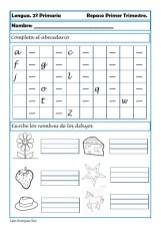 ejercicios lengua segundo primaria 01