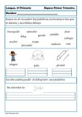 ejercicios lengua segundo primaria 02