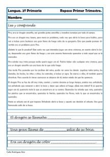 ejercicios lengua segundo primaria 07