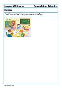 fichas de lengua sexto primaria 12