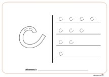 grafo consonantes c