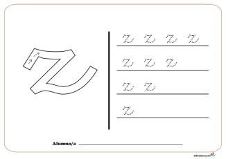 grafo consonantes z