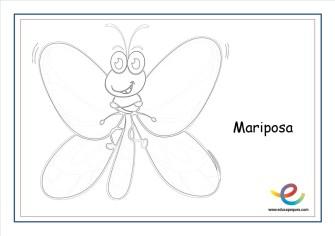 dibujos de primavera mariposa 3