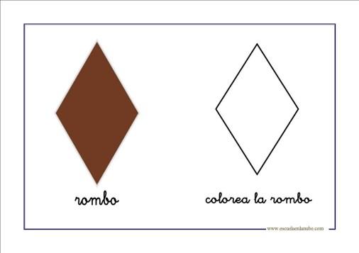 figuras geometricas rombo