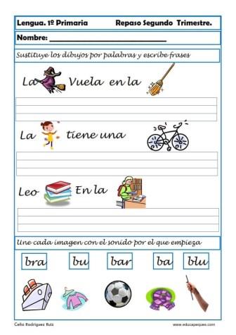 ejercicios lengua primero primaria 02