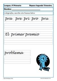 ejercicios lengua primero primaria 04