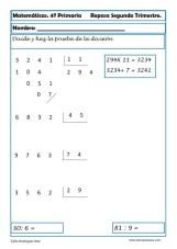ejercicios matemáticas cuarto primaria 24
